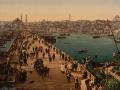 04 Galata bridge in Constantinople