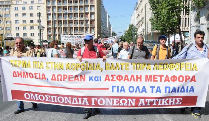 Ο Κατσιφάρας διασφάλισε τη μεταφορά των μαθητών σε αντίθεση με τηv Δούρου στην Αττική