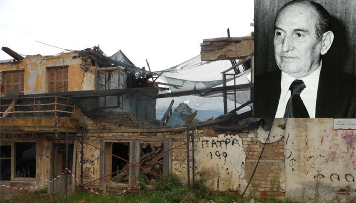 Αίσχος: Γκρεμίζουν το πατρικό σπίτι του Μενέλαου Λουντέμη