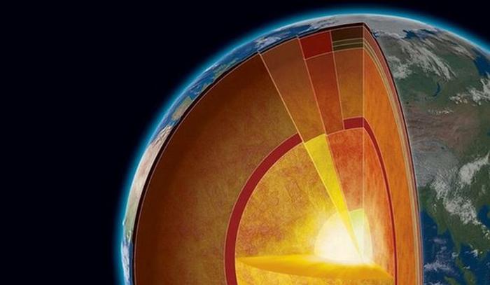 Ένας δεύτερος πυρήνας βρίσκεται μέσα στον πυρήνα της γης