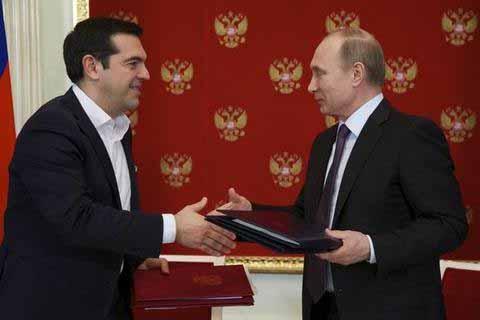 Ολοκληρώθηκαν οι συναντήσεις του Έλληνα πρωθυπουργού, Αλέξη Τσίπρα, με τον Πρόεδρο της Ρωσίας, Βλαντιμίρ Πούτιν