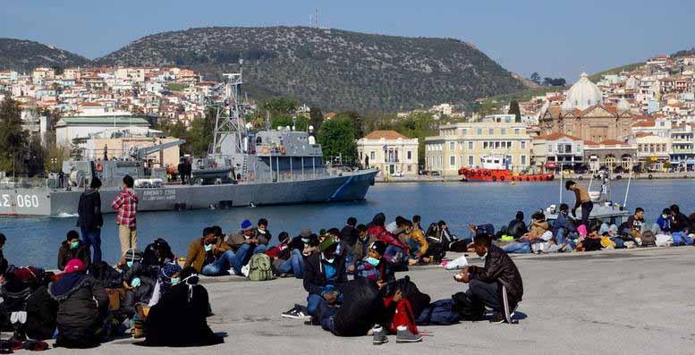 Αντιμέτωπη η κυβέρνηση με το πρόβλημα των μεταναστών