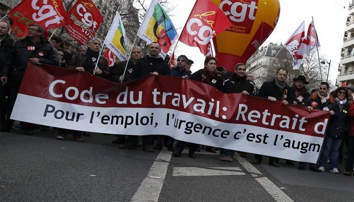 Στους δρόμους οι Γάλλοι κατά των αλλαγών στις εργασιακές σχέσεις