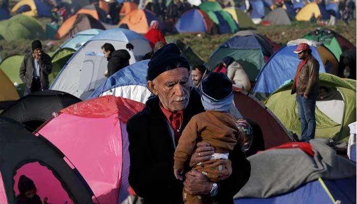Μεγαλώνει η απελπισία στον προσφυγικό καταυλισμό της Ειδομένης