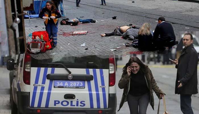 Βομβιστική Επίθεση καμικάζι στο κέντρο της Κωνσταντινούπολης με πέντε νεκρούς και 36 τραυματίες