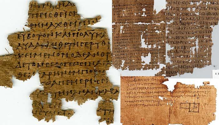 Οι πάπυροι της Αιγύπτου αποκάλυψαν μυστικά 2000 ετών