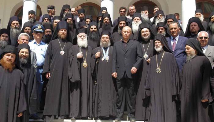 Στο Άγιο Όρος Πατριάρχης Ρωσίας και ο πρόεδρος Πούτιν