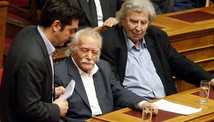 Μίκης Θεοδωράκης: Ειλικρινά λυπάμαι γιατί ο Τσίπρας και ο Γλέζος με ξεγέλεσαν