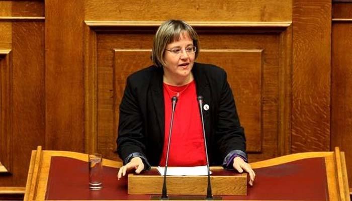 Παραίτηση της βουλευτού του ΣΥΡΙΖΑ Βασιλική Κατριβάνου