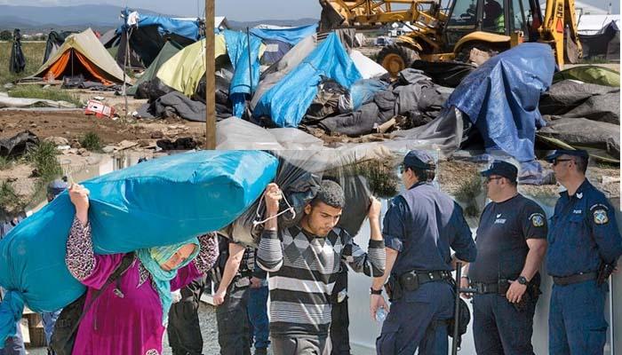 Το τέλος της Ειδομένης και η αναζήτηση 4780 προσφύγων & μεταναστών