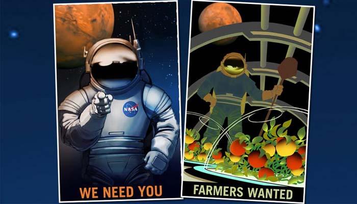 NASA: Ζητούνται αγρότες, δάσκαλοι και εξερευνητές για... τον Άρη