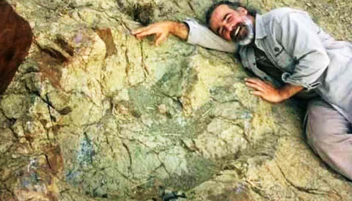 Βρέθηκε ένα από τα μεγαλύτερα αποτυπώματα δεινοσαύρου στον κόσμο
