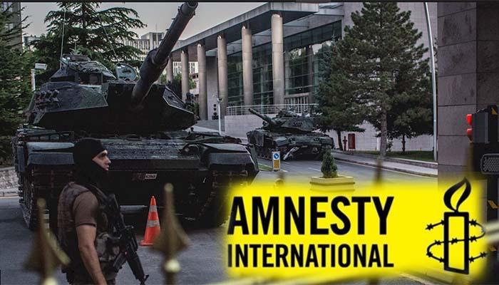 Διεθνής Αμνηστία: Αξιωματικοί του τουρκικού στρατού βιάστηκαν με κλομπ – Τι έχει να πει ο «αριστερός» κ. Κοτζιάς
