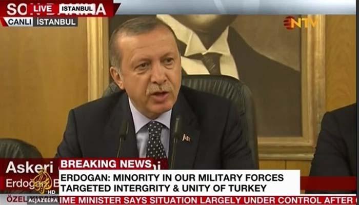 Απέτυχε η απόπειρα πραξικοπήματος στην Τουρκία – Κυρίαρχος ο Ερντογάν
