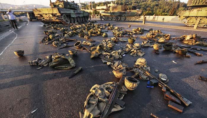 Υπό κατάρρευση ο τούρκικος στρατός που ήταν ο βασικός πυλώνας του σύγχρονου κράτους