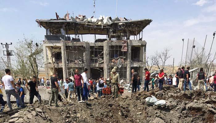 Έκρηξη στο Ντιγιάρμπακιρ της Τουρκίας