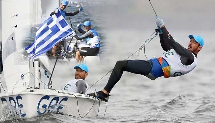 «Χάλκινοι» οι Μάντης - Καγιαλής, και πέμπτο μετάλλιο για την Ελλάδα