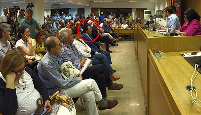 O κ. Χρ.Καλογρίτσας σε κομματική εκδήλωση του ΣΥΡΙΖΑ για τη διαπλοκή και τα ΜΜΕ