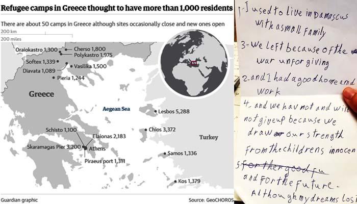 Guardian: «Οι φυλακισμένοι της Ευρώπης» - η καθημερινή ταπείνωση των προσφύγων που έχουν κολλήσει στην Ελλάδα