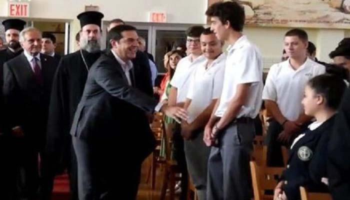 Να που ο πρωθυπουργός Τσίπρας ήρθε αντιμέτωπος με έναν μίνι-Τσίπρα!!!