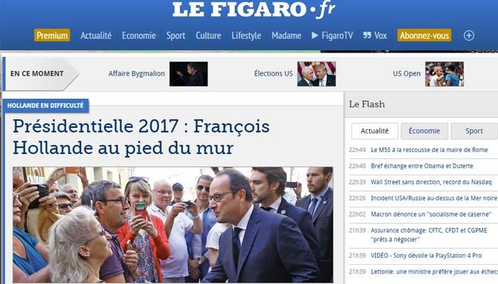 Βατερλό Φρανσουά Ολάντ στις δημοσκοπήσεις – δεν περνάει στον δεύτερο γύρο