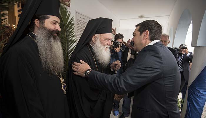 Ιερώνυμος προς Τσίπρα: Υπάρχει ανησυχία και αναβρασμός- Να προλάβουμε