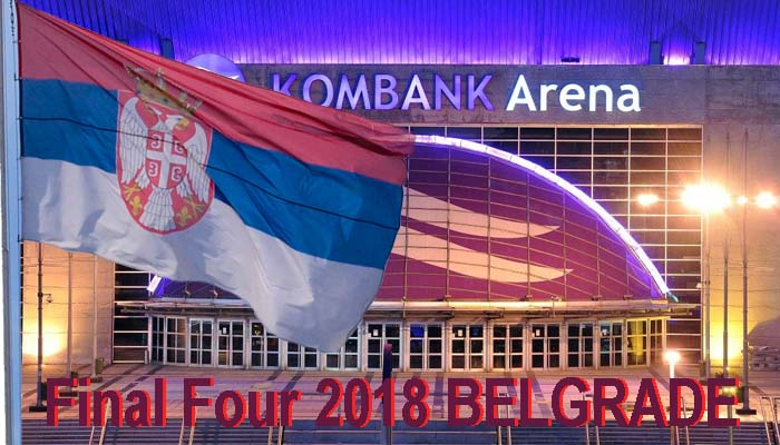 Euroleague: Στο Βελιγράδι και επίσημα το Final Four 2018