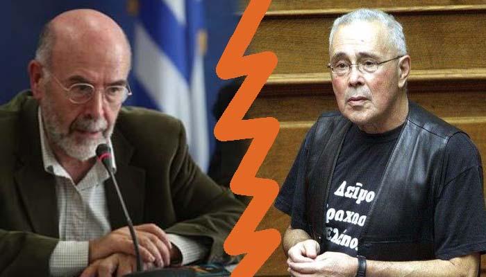 Ο χείμαρρος υφυπουργός Παιδείας Κώστας Ζουράρις και η απάντηση του καθηγητή Αντώνη Λιάκου