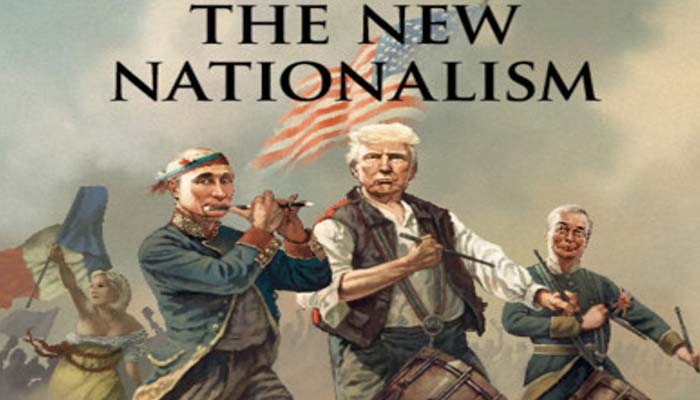 Economist: «Ο νέος εθνικισμός» με Τραμπ, Φάρατζ, Πούτιν και Λεπέν, στο εξώφυλλο, που θα συζητηθεί