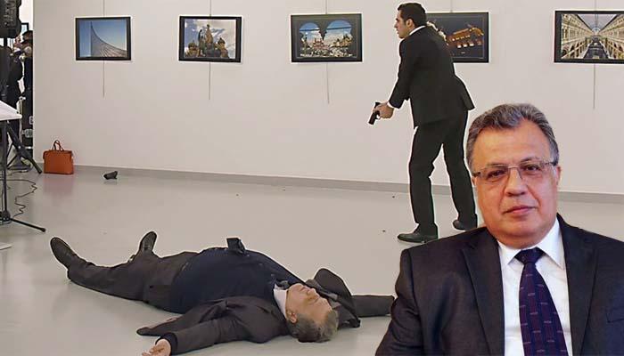 Νεκρός ο Ρώσος πρέσβης στην Τουρκία από Ισλαμιστή Τούρκο αστυνομικό