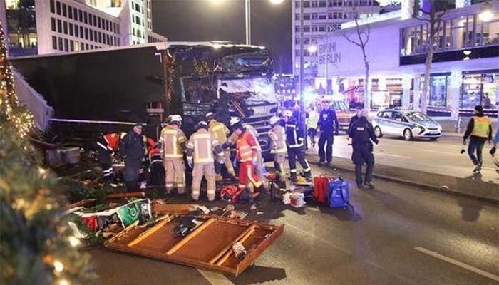 Βερολίνο: Ανάληψη ευθύνης από το ISIS για την επίθεση