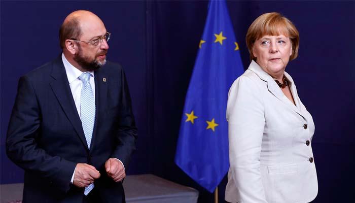 Ο Μάρτιν Σούλτς αντίπαλος της Άνγκελα Μέρκελ στις εκλογές του Σεπτεμβρίου