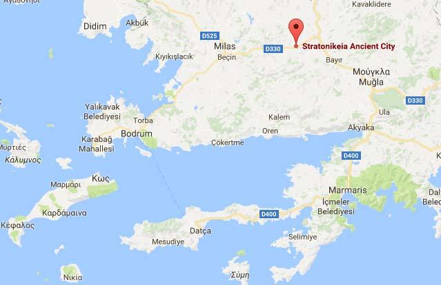 Εξήντα πέντε βυζαντινοί τάφοι ανακαλύφθηκαν στη αρχαία Στρατονίκεια της Τουρκίας