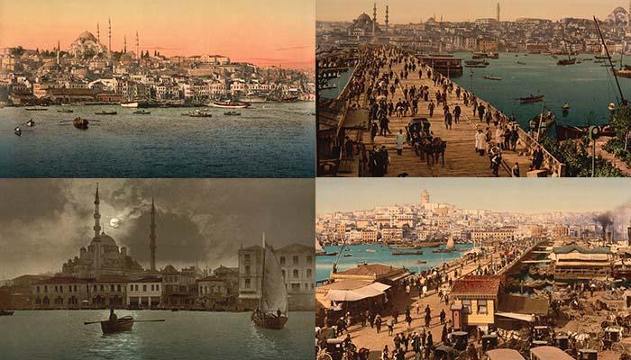 Εκπληκτικές έγχρωμες φωτογραφίες της Κωνσταντινούπολης του 1890