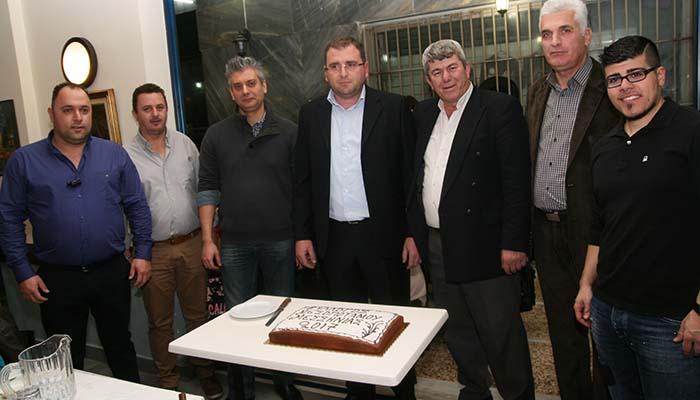 Κοπή πρωτοχρονιάτικης πίτας Πολιτιστικού Συλλόγου Μεσοποτάμου Μεσσηνίας