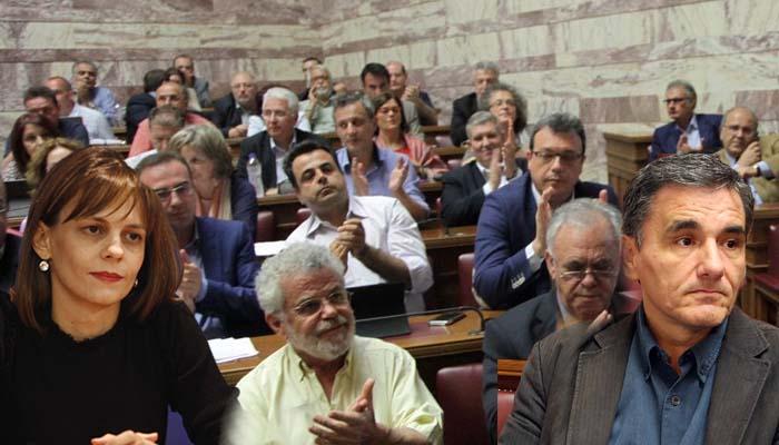 Βουλευτές του ΣΥΡΙΖΑ «βομβάρδισαν» Τσακαλώτο και Αχτσιόγλου