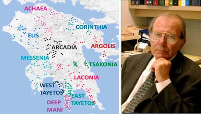 Οι κάτοικοι της Πελοποννήσου δεν κατάγονται από Σλάβους αλλά από Ευρωπαίους