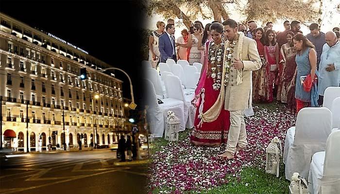 Τετραήμερος ινδικός γάμος υπερπαραγωγή στο κέντρο της Αθήνας