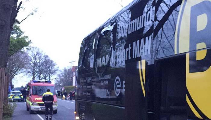 Άγνωστα ακόμα τα κίνητρα της επίθεσης εναντίον του λεωφορείου της Ντόρτμουντ