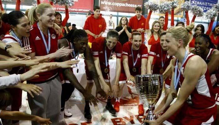 Μπάσκετ γυναικών: 2ο συνεχόμενο πρωτάθλημα για τον Ολυμπιακό