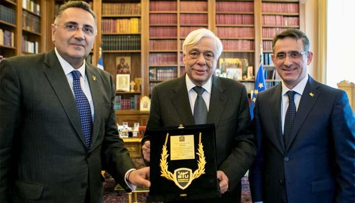 Συνάντηση της ηγεσίας της ETU με τον Πρόεδρο της Ελληνικής Δημοκρατίας