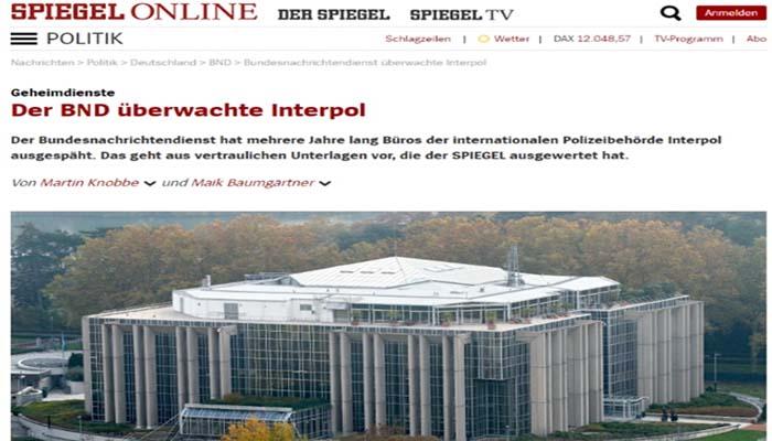 Spiegel: Η γερμανική υπηρεσία πληροφοριών κατασκόπευε την Interpol αλλά και στην Ελλάδα