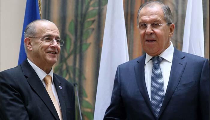 Σεργκέι Λαβρόφ: Αποφυγή βίας για τους υδρογονάνθρακες και δεσμευμένη για δίκαιη λύση του Κυπριακού