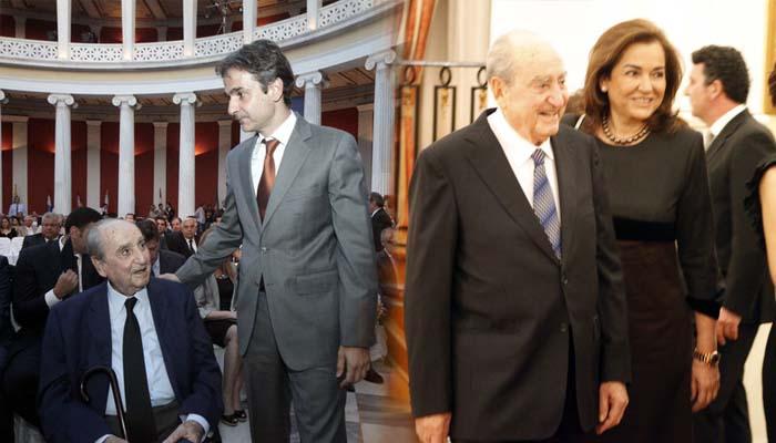 Έφυγε από τη ζωή ο Κωνσταντίνος Μητσοτάκης στα 99 του χρόνια