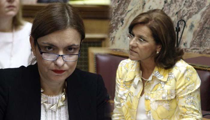 Από ΔΗΜΑΡ στο ΣΥΡΙΖΑ η μαμά και η κόρη στο Υπερταμείο με μισθό 270.000 ευρώ το χρόνο