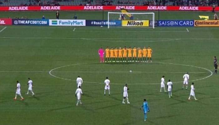 Κατακραυγή για την ασέβεια της Σαουδικής Αραβίας σε αγώνα ποδοσφαίρου στην Αυστραλία