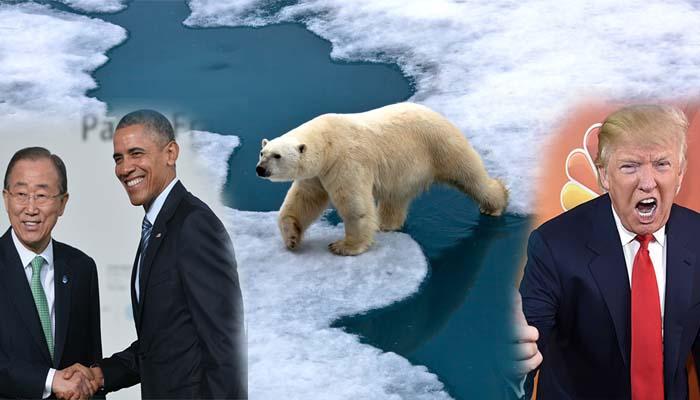 Ο Τραμπ έβγαλε τις ΗΠΑ από τη Συμφωνία του Παρισιού για το κλίμα