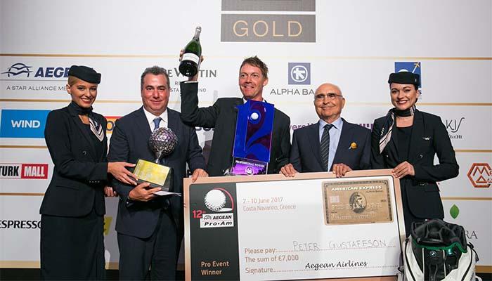 Ολοκληρώθηκε με επιτυχία το διεθνές τουρνουά γκολφ 12ο Aegean Airlines Pro-Am στην Costa Navarino