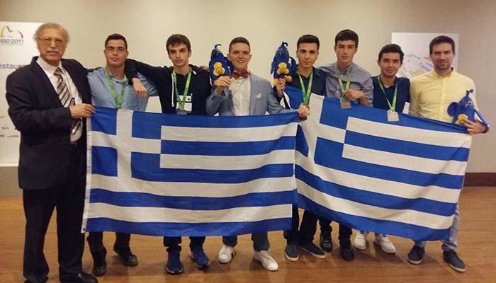 Σάρωσαν και πάλι οι Ελλήνες μαθητές στην 58η Διεθνή Μαθηματική Ολυμπιάδα του Ρίο Ντε Τζανέιρο