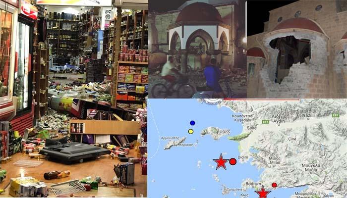 Φονικός σεισμός 6,4 Ρίχτερ στην Κω με δύο νεκρούς, αρκετούς τραυματίες και πολλές ζημιές
